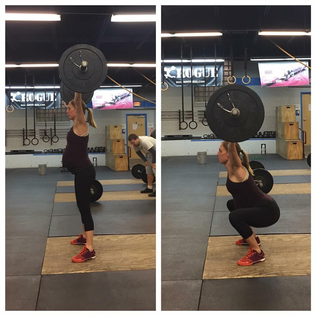 Amanda Hepp Jackson Overhead Squat CrossFit Adoration January 2017 Member of the month