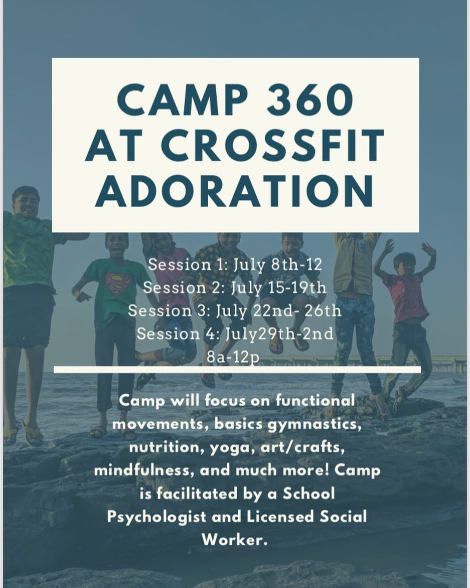CF Kids Camp 360 coming in July! Early sign up discount!
